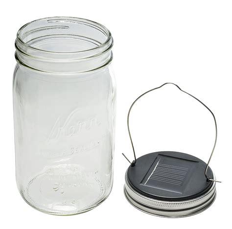 solar powered jar light set for wide jar lid