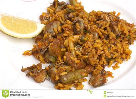 cuisine traditionnelle espagnole plaque avec la nourriture traditionnelle espagnole