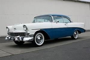 1956 Chevrolet 210 India Ivory  Twilight Turquoise
