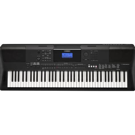 yamaha keyboard psr yamaha psr ew400 portable keyboard psrew400 b h photo