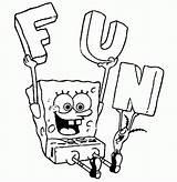Coloring Sponge Bob Inspiration Pdf sketch template