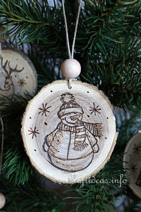 wood crafts  christmas wood burned christmas