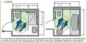 Behindertengerechtes Bad Maße : barrierefreies bad richtig planen mit norm ma e zusch sse ~ A.2002-acura-tl-radio.info Haus und Dekorationen