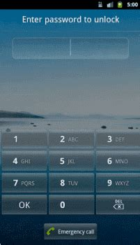 android lock screen android what does the emergency call button do