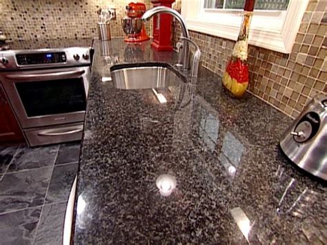 kitchen countertops granite colors popular materials for kitchen countertops hgtv 4320