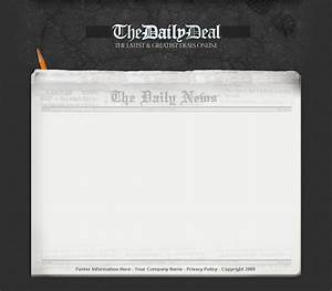 5 best images of blank newspaper layout newspaper With newspaper header template