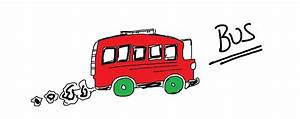 Easy Kids Drawing Lessons : How To Draw a Cartoon Bus ...
