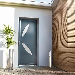 porte d39entree alu solstice pasquet menuiseries With porte d entrée en aluminium