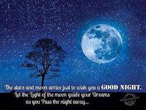57 Good Night Wishing Moon and Stars Images - Mojly