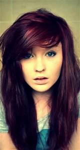 Dark plum / purple hair----streaks? | Hair color idea ...