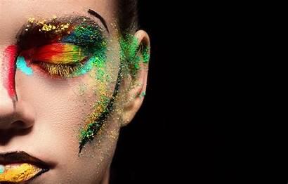 Background Makeup Colorful Face Eyes Lipstick Eyeshadow