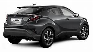 Toyota Chr Noir : dimensions toyota c hr 2017 coffre et int rieur ~ Medecine-chirurgie-esthetiques.com Avis de Voitures