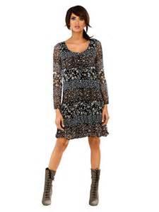 robe de mariã e manche longue top robes robe manches longues imprimee
