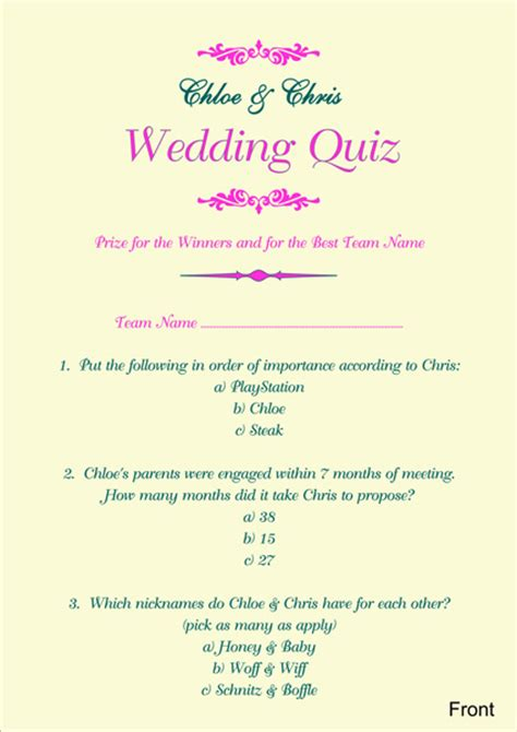 wedding quizzes 10 types best friend test quiz serpden