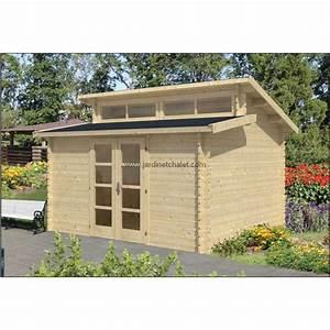 Abri De Jardin Bois 12m2 : cabane en bois pour jardin chalet abri bureau de jardin hans 12m2 ~ Voncanada.com Idées de Décoration