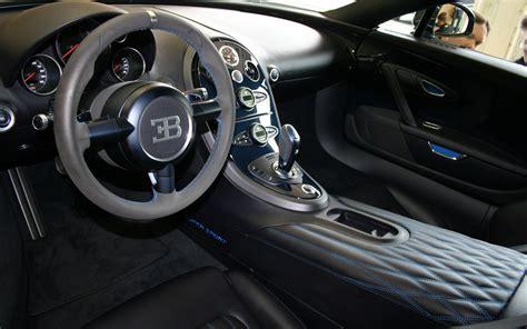 Bugatti Veyron Super Sport Interior