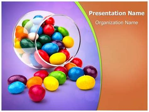 sweet candy powerpoint template background