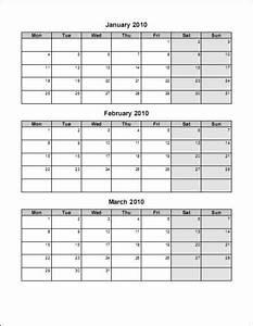 3 month calendar template word calendar template 2018 With three month calendar template word