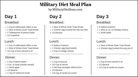 Best 3 Day Military Diet Success Stories The 3 Day Military Diet