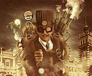 How to Create a Steampunk Style Illustration in Photoshop