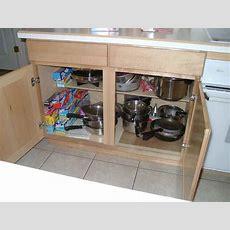 Kitchen Cabinet Organization Slideouts Rollouts