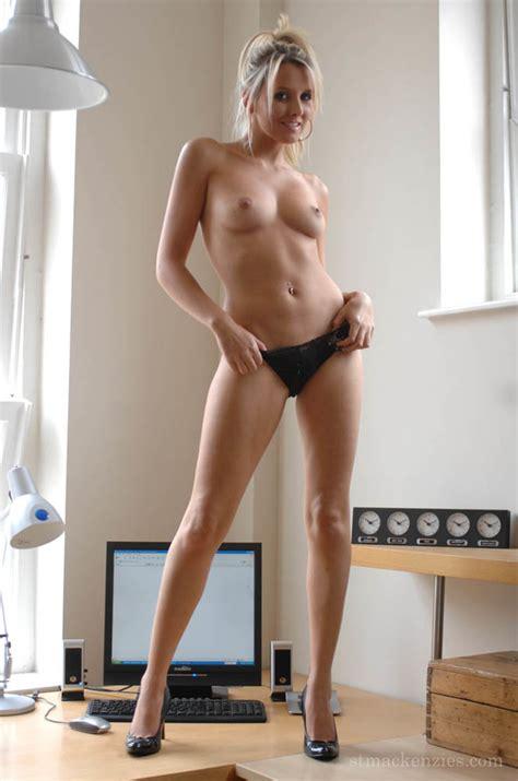 Sexy Secretary Strips Naked To Show Pert Ti Xxx Dessert