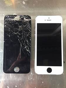 iPhone 5s Custom with the White screen and Black button ...