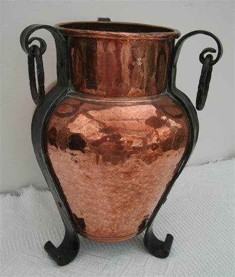 copper vase antique antiques atlas arts crafts copper vase on 2588