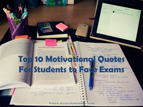 top  motivational quotes  students  face exams