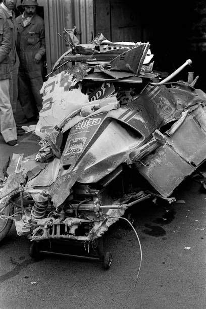 Post processed in after effects. Niki Lauda Ferrari 312T2 Grand Prix of Germany Nurburgring 01 August 1976 The remnants of Niki ...