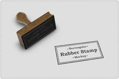 psd stamp mockup templates utemplates