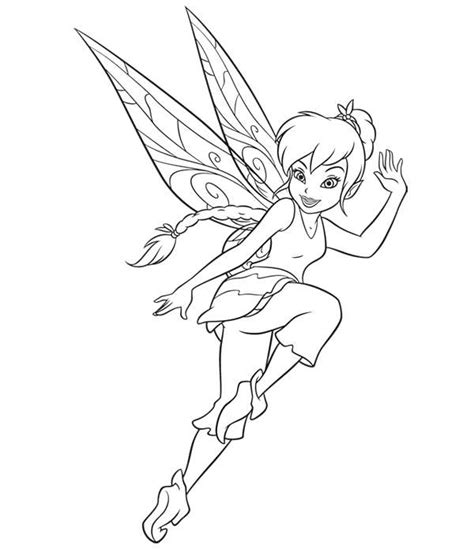 Cartoon Fairies Coloring Pages at GetColorings com Free