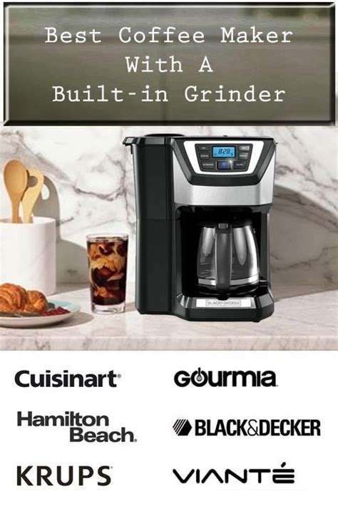 Knowing the types of coffee makers you would like, especially espresso makers, regular coffee machines, or drip models will narrow your selection while you are shopping through a sea of products. 7 Best Coffee Makers With Grinder (Grind and Brew) of 2020 | BrewerStyle in 2020 | Coffee maker ...