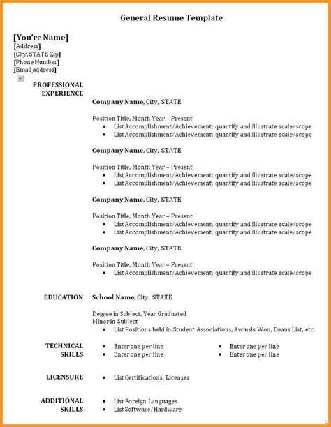 5 part time resume cook resume