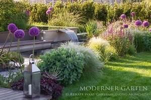Moderne Gärten Bilder : gartenplanung f r den pflegeleichten garten renate waas ~ Eleganceandgraceweddings.com Haus und Dekorationen