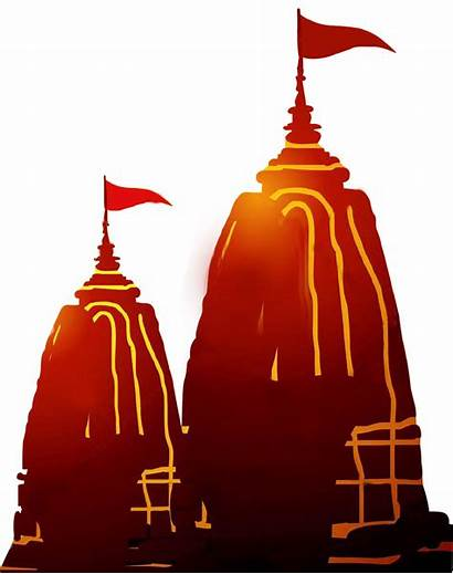 Temple Hindu Navratri Hinduism Transparent Clipart Flag