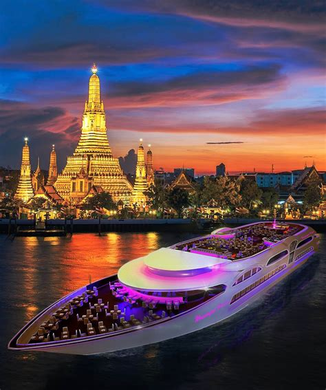 the best dinner cruises on the chao phraya river in thailand