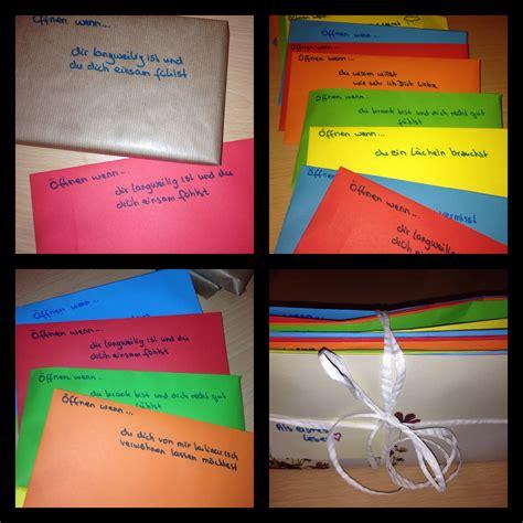 kreatives geschenk freund open when letters 214 ffnen wenn briefe geschenke valentinstag s day open