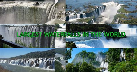 Top Biggest Waterfalls The World Bloggers