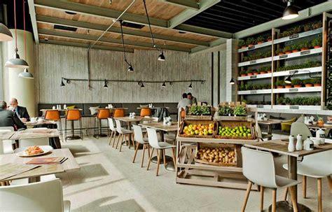 cuisine style atelier industriel comment décorer un restaurant bio