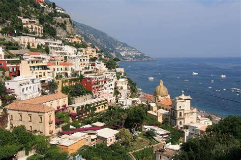 Breathtaking Medieval Town Of Positano In Campania Italy