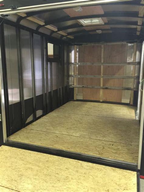 enclosed trailer r door conversion cargo trailer cer conversion hometalk