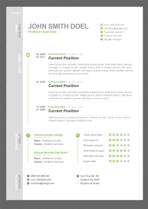 How To Write A Creative Resume That Stands Out by 28 Creative Cheap Resume Templates