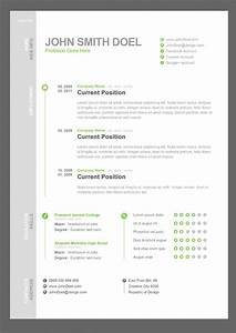 28 creative cheap resume templates for Cheap resume templates