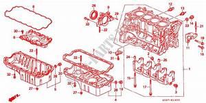 Cylinder Block  Oil Pan  Sohc  Sohc Vtec  For Honda Cars