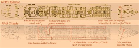 titanic b deck plans b deck