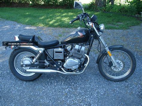 1986 Honda Rebel 250cc Black