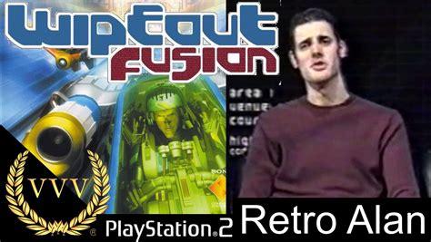 wipeout fusion alan retro playstation demo