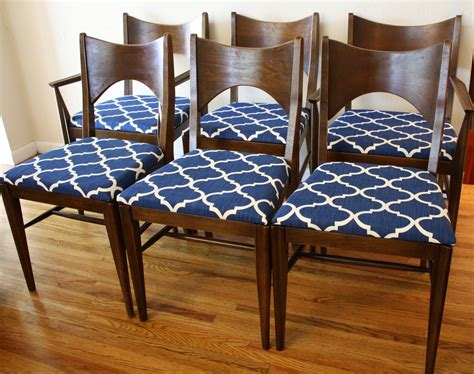 mid century modern broyhill saga dining chairs picked