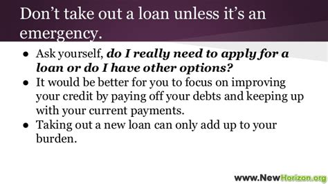 Do's And Don'ts On Applying To A Bad Credit Personal Loan